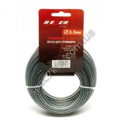 N84 Леска для триммера 3,0 mm / 15 m с пластиковой вставкой REZER